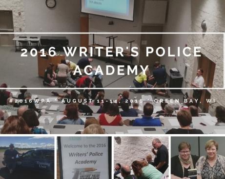 2016 Writer's Police Academy